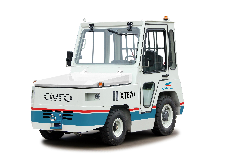 Avro XT670 Diesel Baggage Tractors